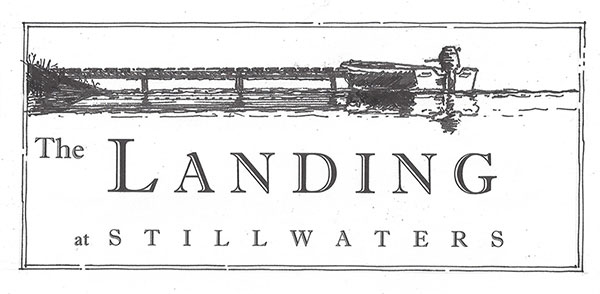 the landing at stillwaters logo